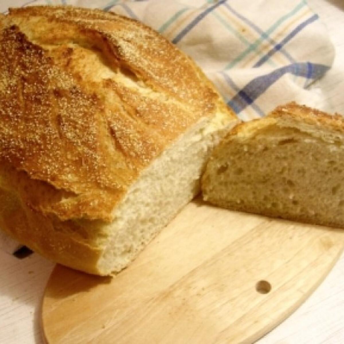 Ezen a képen: Puliszkás kenyér