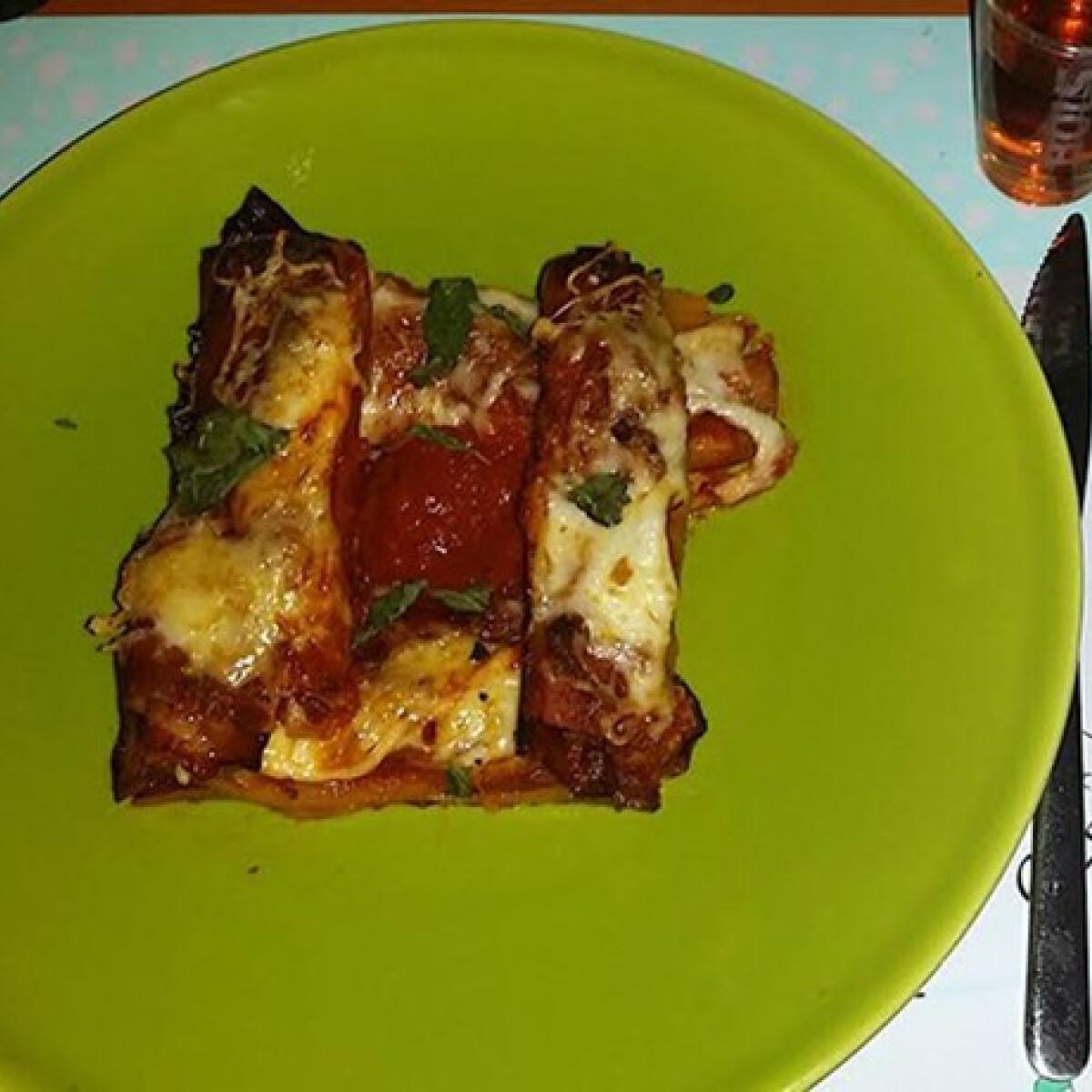 Ezen a képen: Rakott cannelloni a'la janettaylor