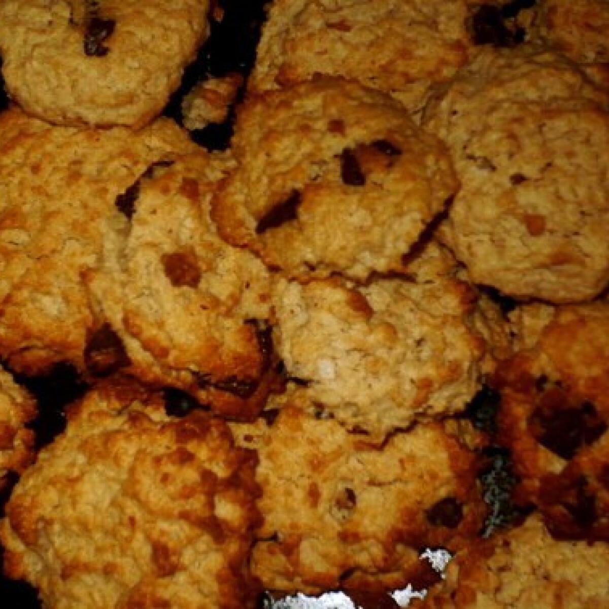 Ezen a képen: Omlós körtés kókuszos keksz