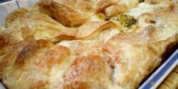 Brokkoli leveles tésztában Puzsitól