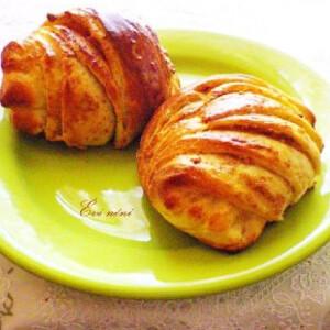 Libatepertős croissant