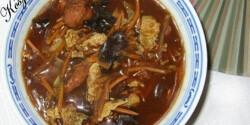 Tabasco szószos kínai csípős - savanyú leves