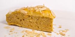 Mézes krémes sütőtök-torta