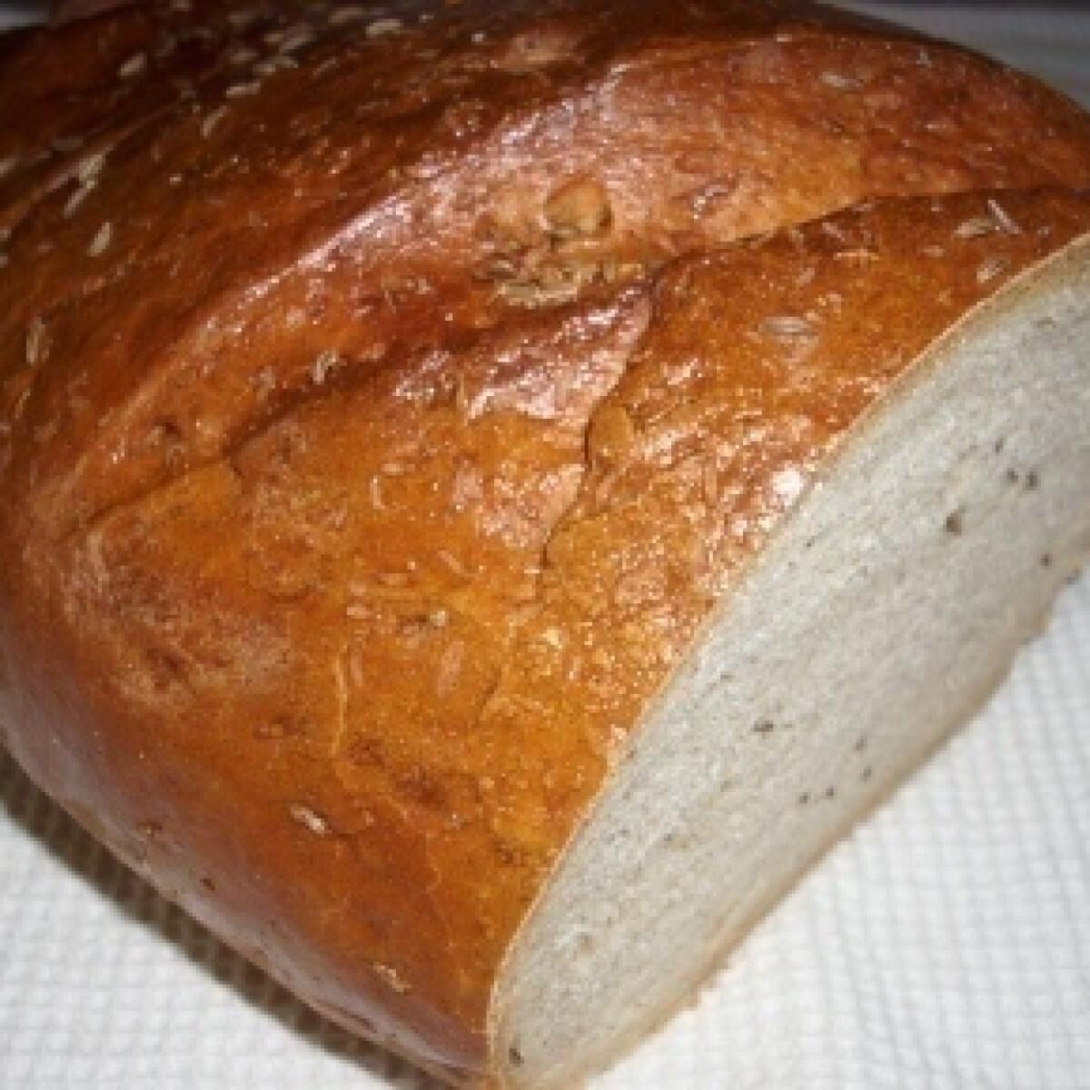 Ezen a képen: Rusztikus kenyér