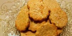 Kókuszos keksz 4. - teljes kiőrlésű