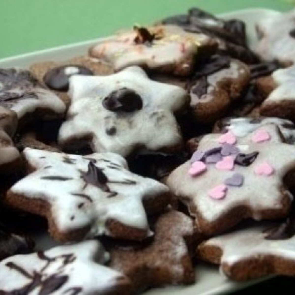 Ezen a képen: Narancsos-csokis keksz