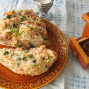 Darált zöldség télire Olgis konyhájából