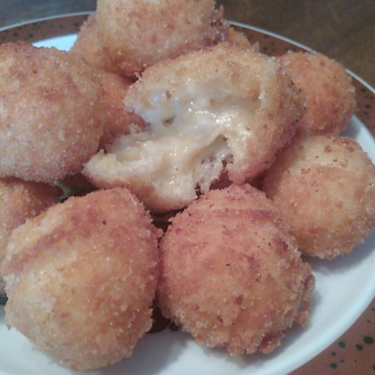 Legegyszerűbb sajtgolyó