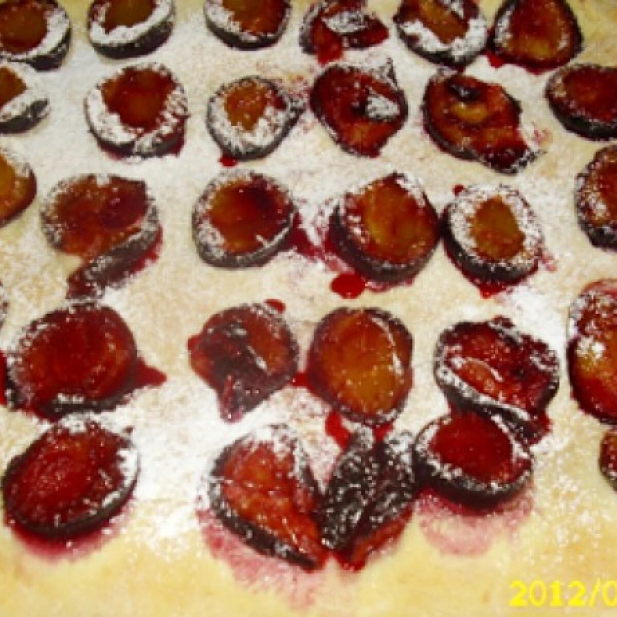 Szilvás lepény kinguci konyhájából