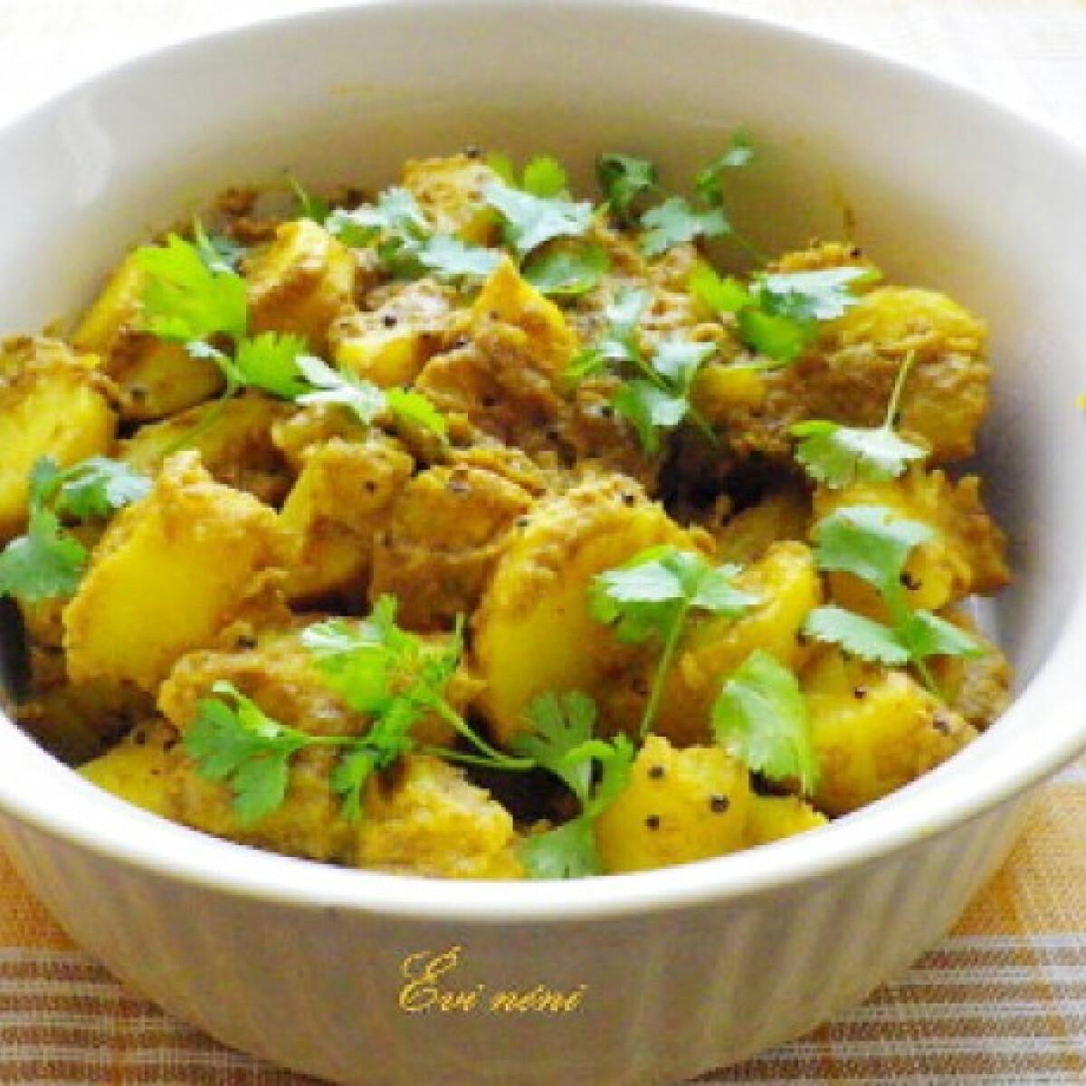 Aloo achar - nepáli burgonyasaláta