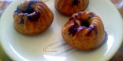 Citromos-mákos-meggyes muffin