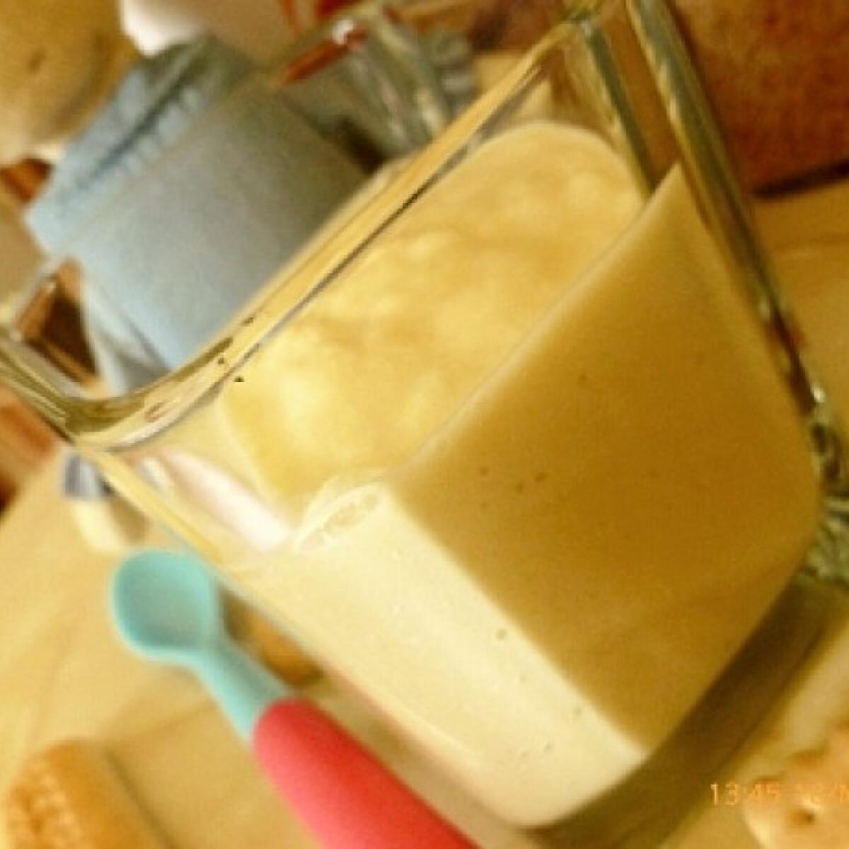Kekszes-almás túrókrém babáknak