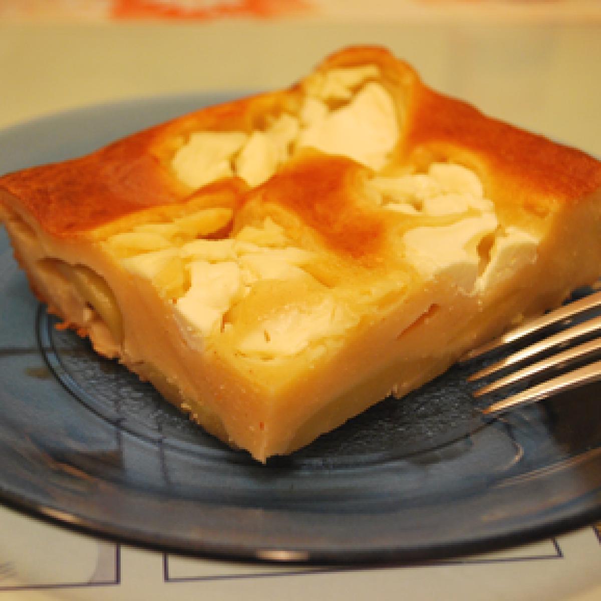 Ezen a képen: Erzsimama krumplis prószája