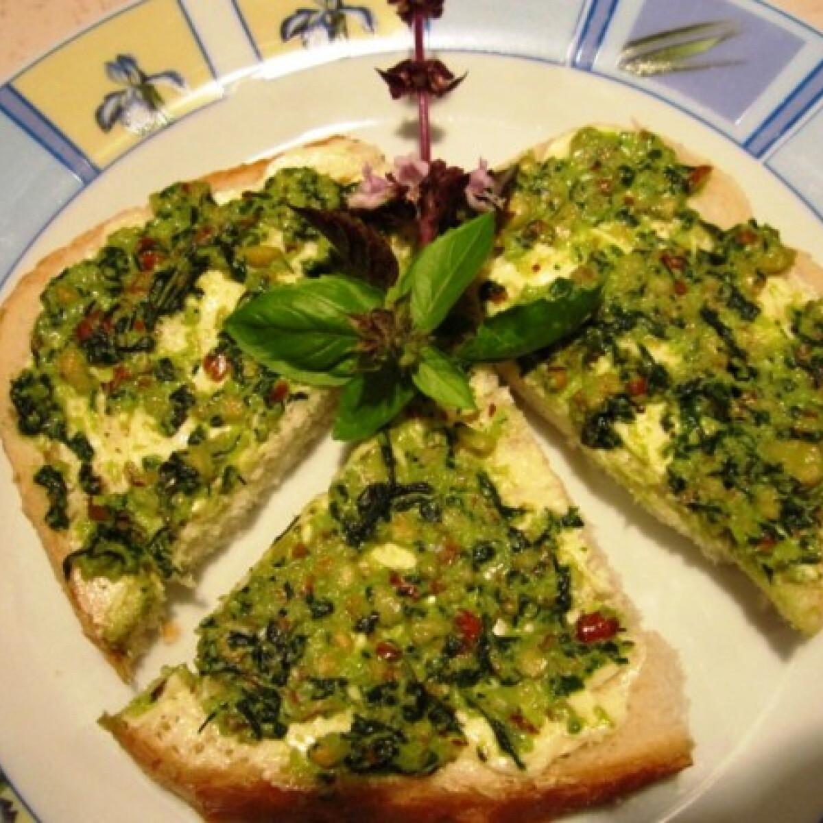 Ezen a képen: Pesto Olgis konyhájából