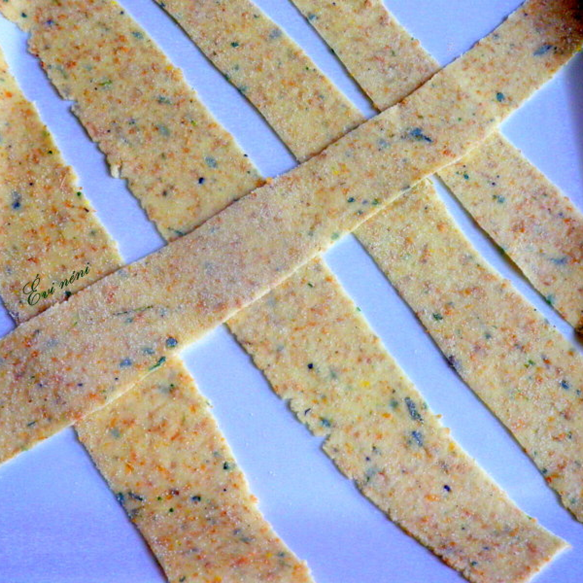 Kovászos citromos-kakukkfüves tészta
