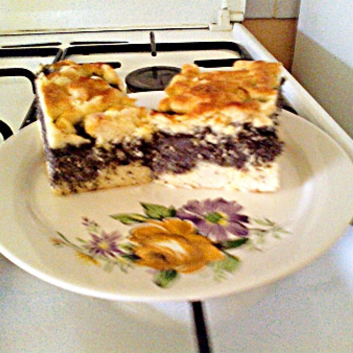 Mákos cukkinis sütemény