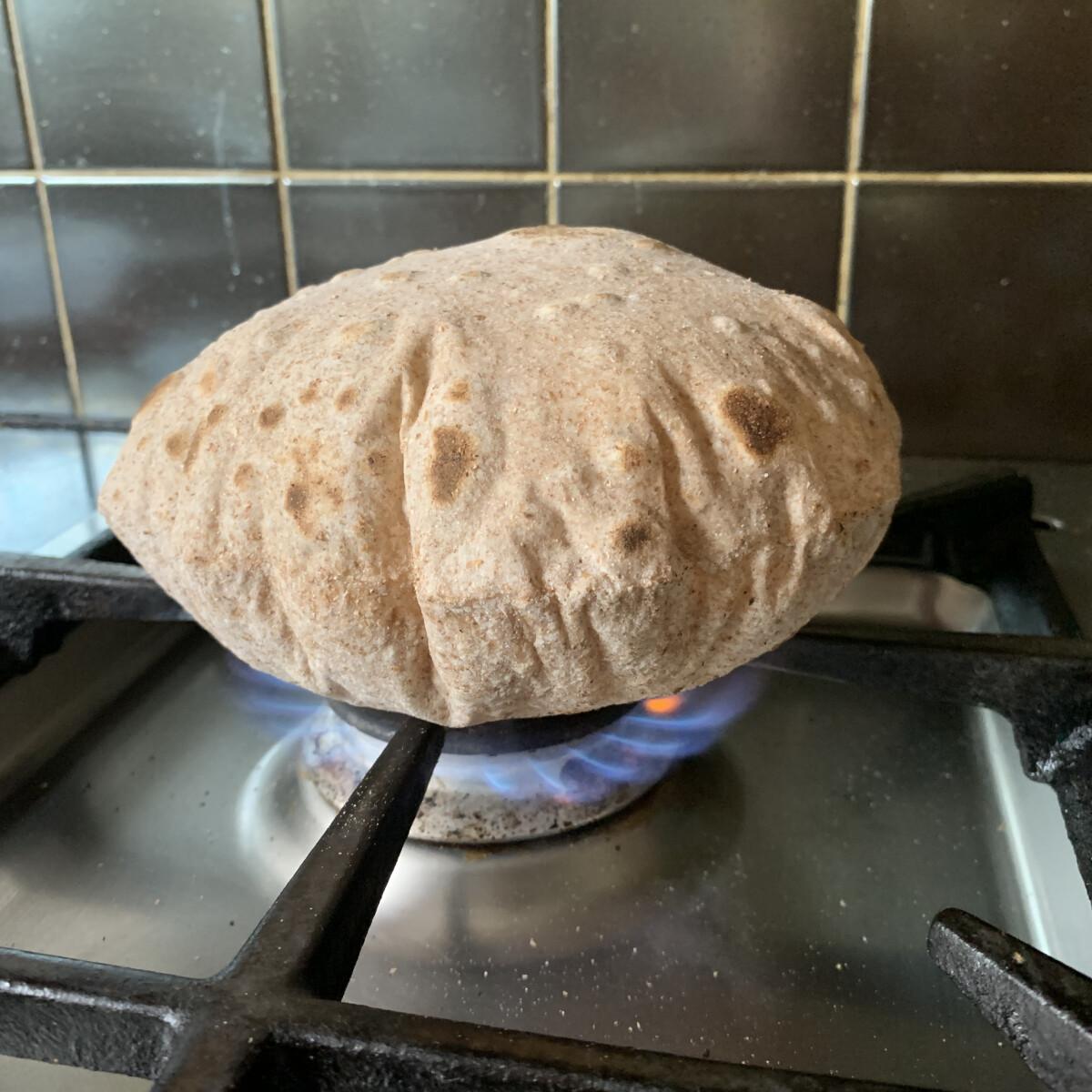 Roti - az indiai lapos kenyér