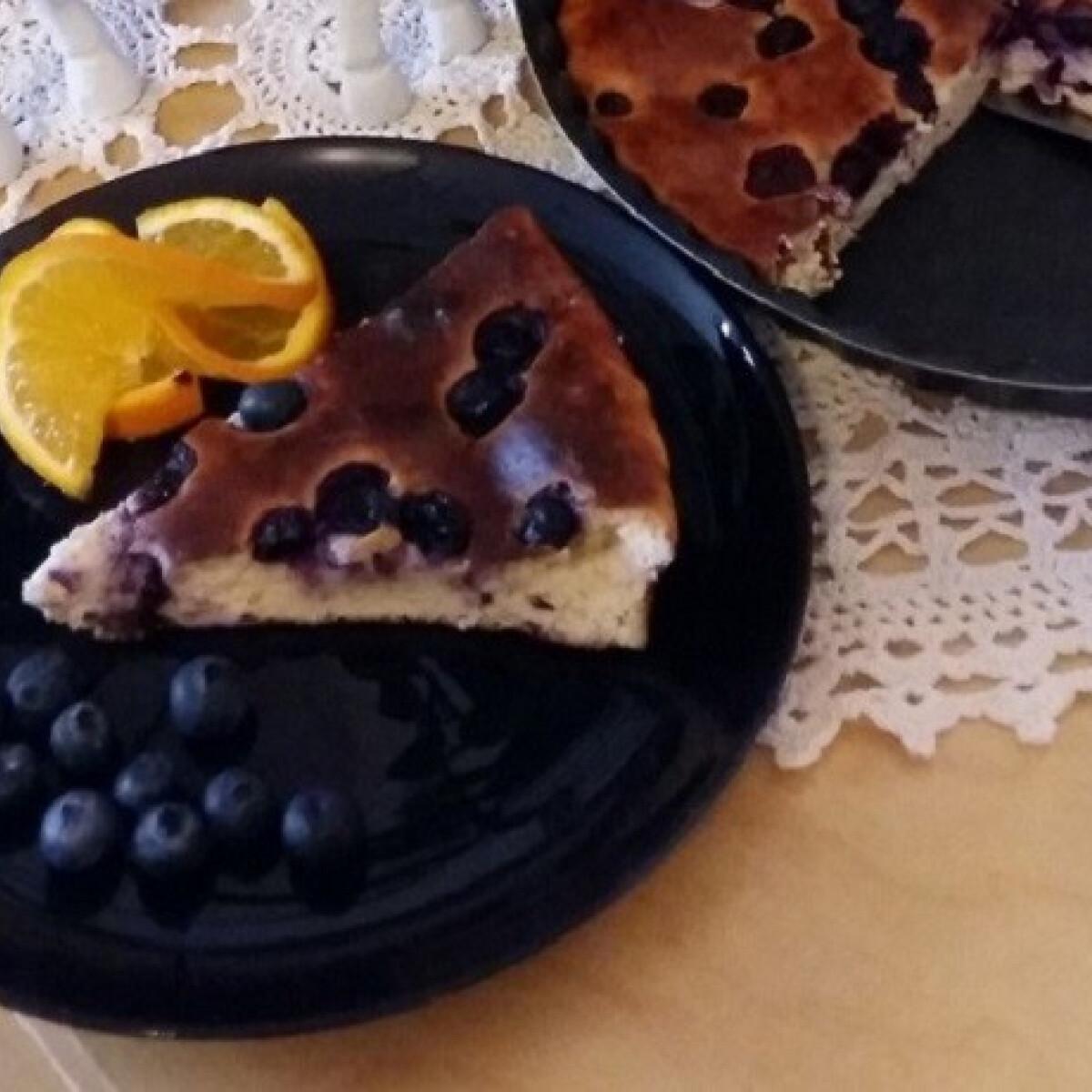 Ezen a képen: Gyors diétás túrós süti