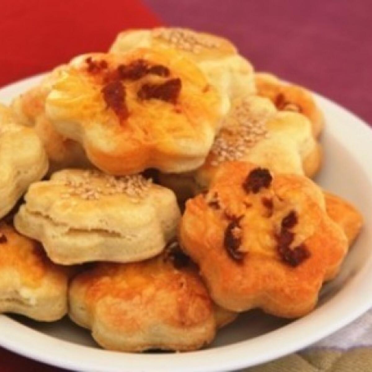 Ezen a képen: Feta sajtos-sós margaréták