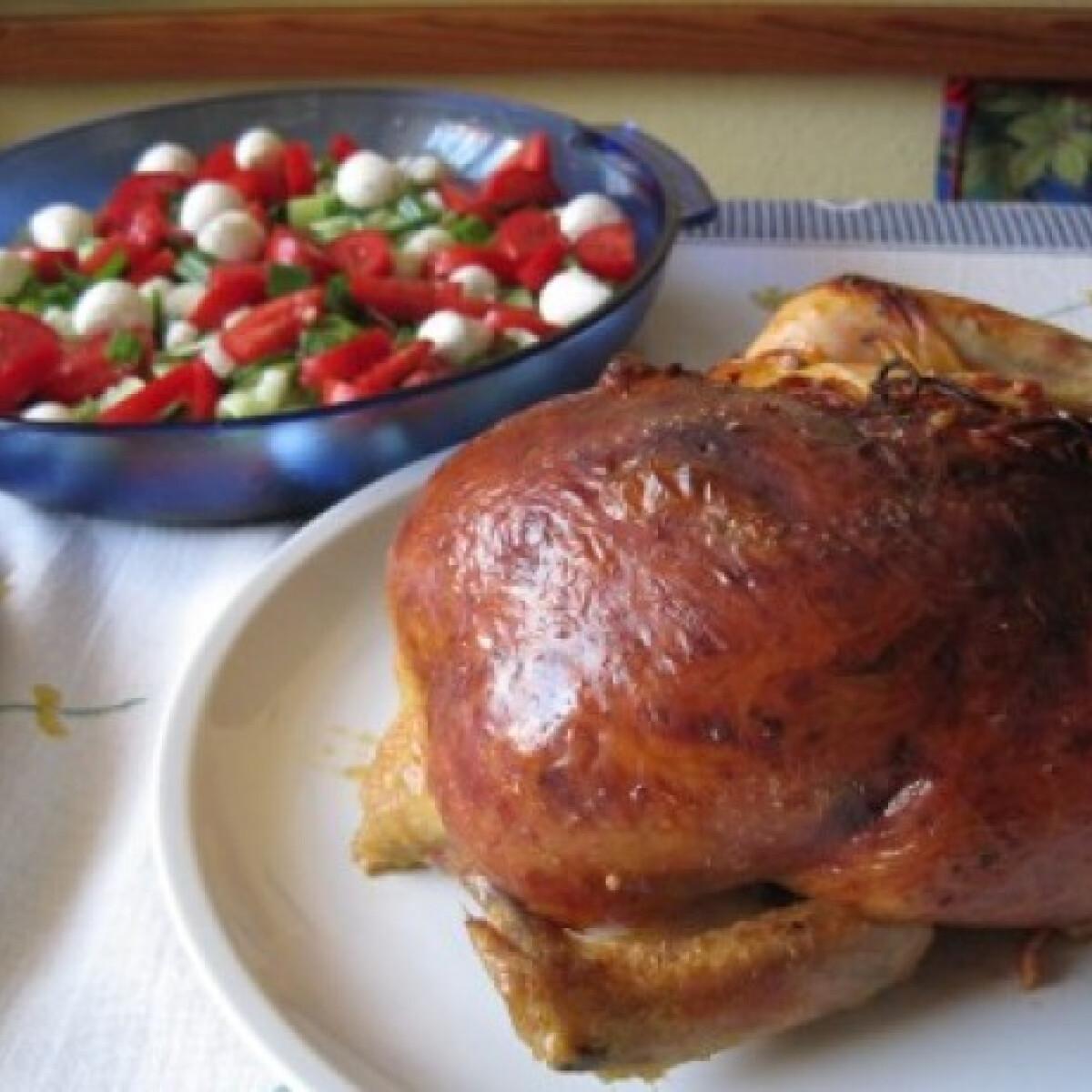 Ezen a képen: Milánói töltött csirke