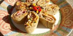 Krémsajtos tortilla