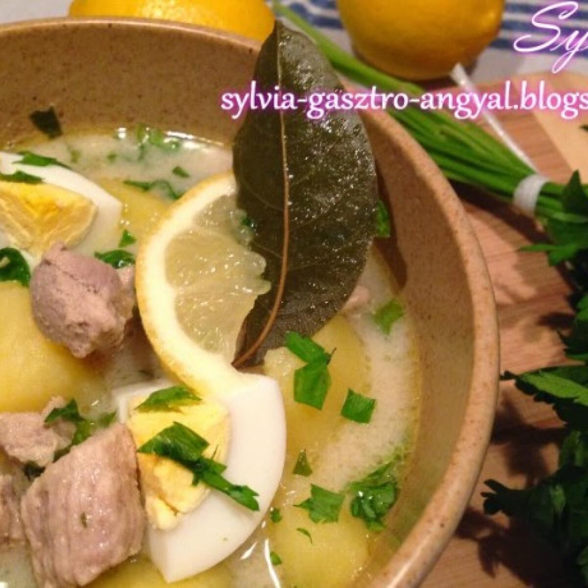 Alföldi raguleves Sylvia Gasztro Angyal konyhájából