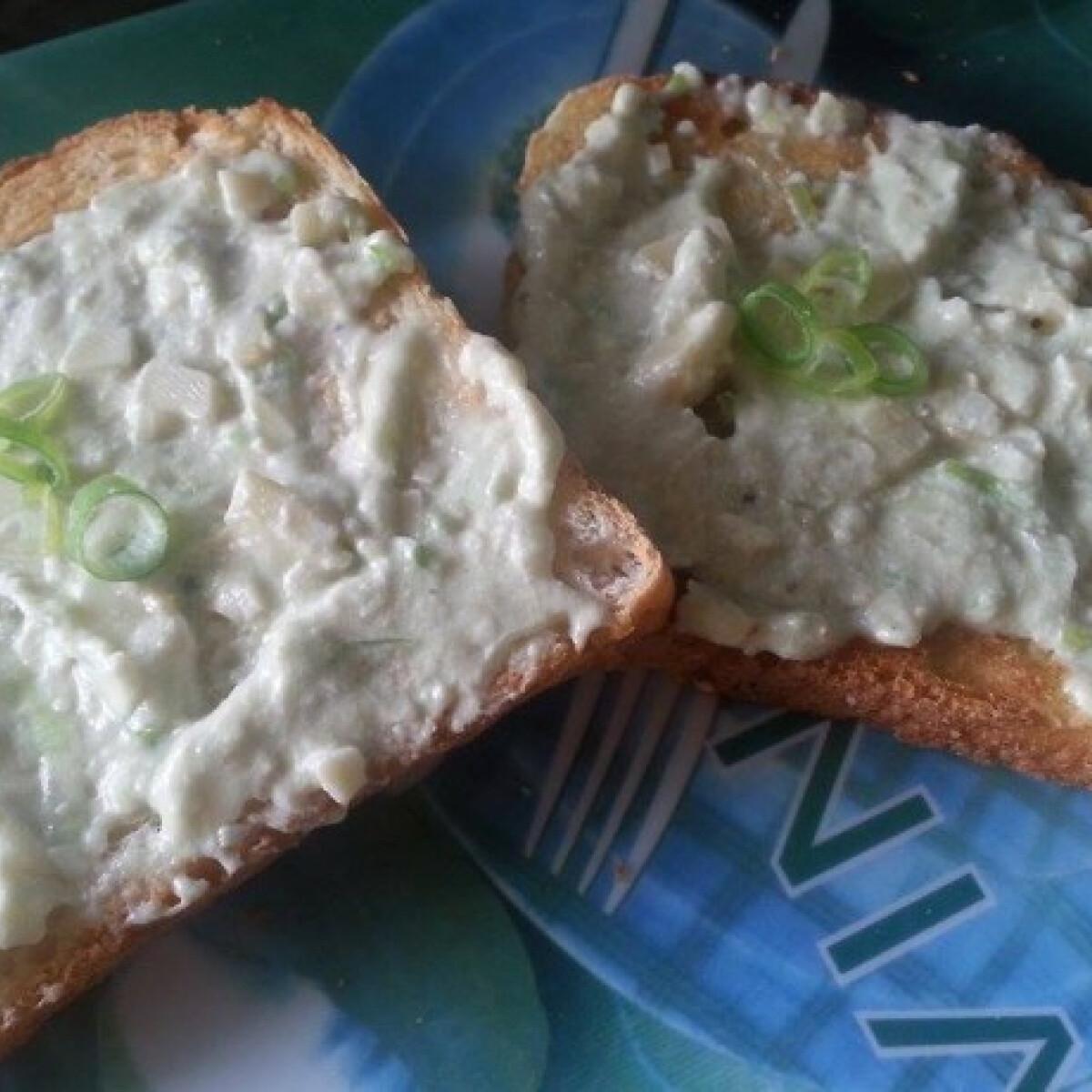 Sajtos szendvicskrém Andzsika konyhájából