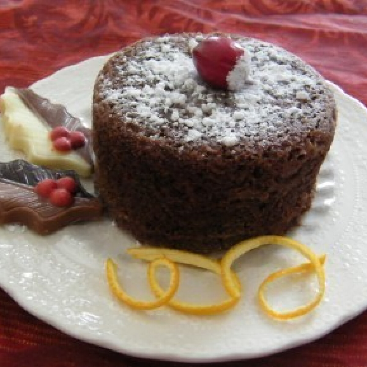 Csokis-banános karácsonyi brownie - Brownie 9.