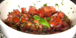 Paradicsomos bruschetta vegadiától