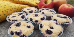 Gyümölcsvelős muffin