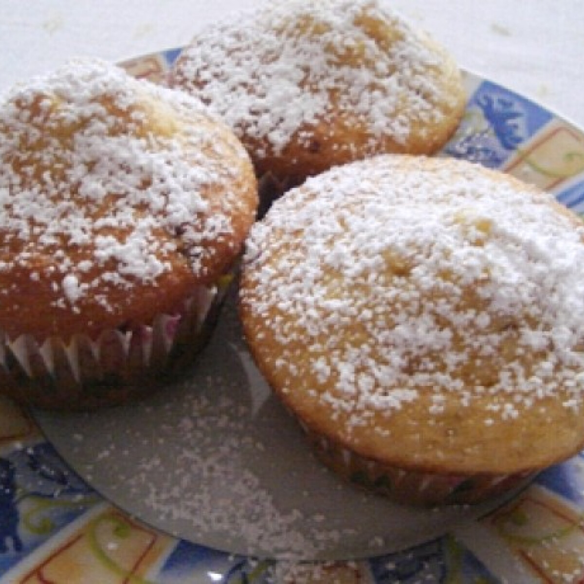 Vaníliás Alap muffin