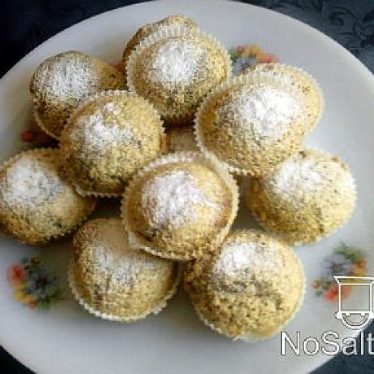 Mákos muffin szegfűszeggel