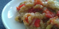 Sült paprikás padlizsánkrém