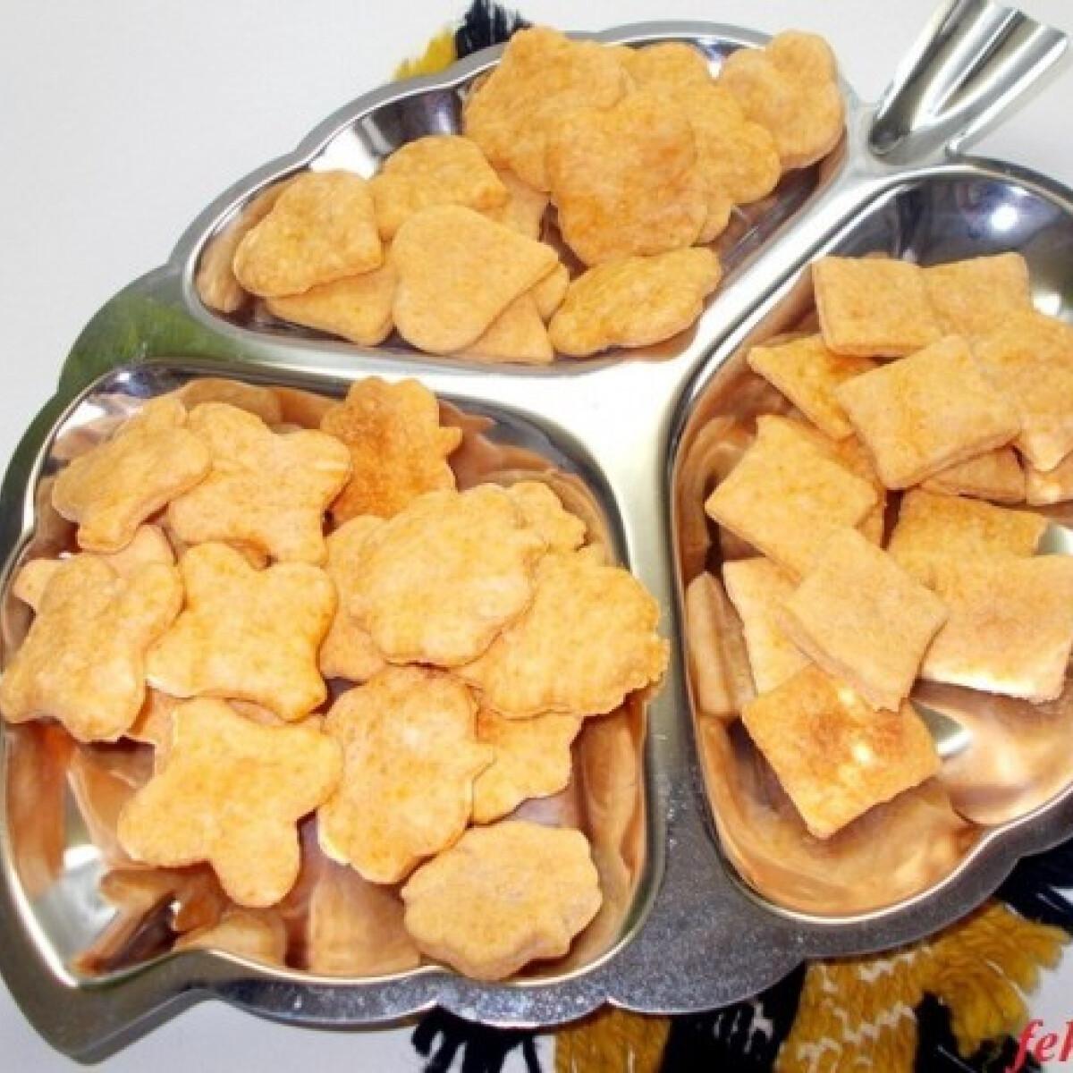 Sajtos-chilis kréker