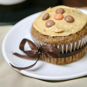 Mogyorókrémes muffin Afraa konyhájából