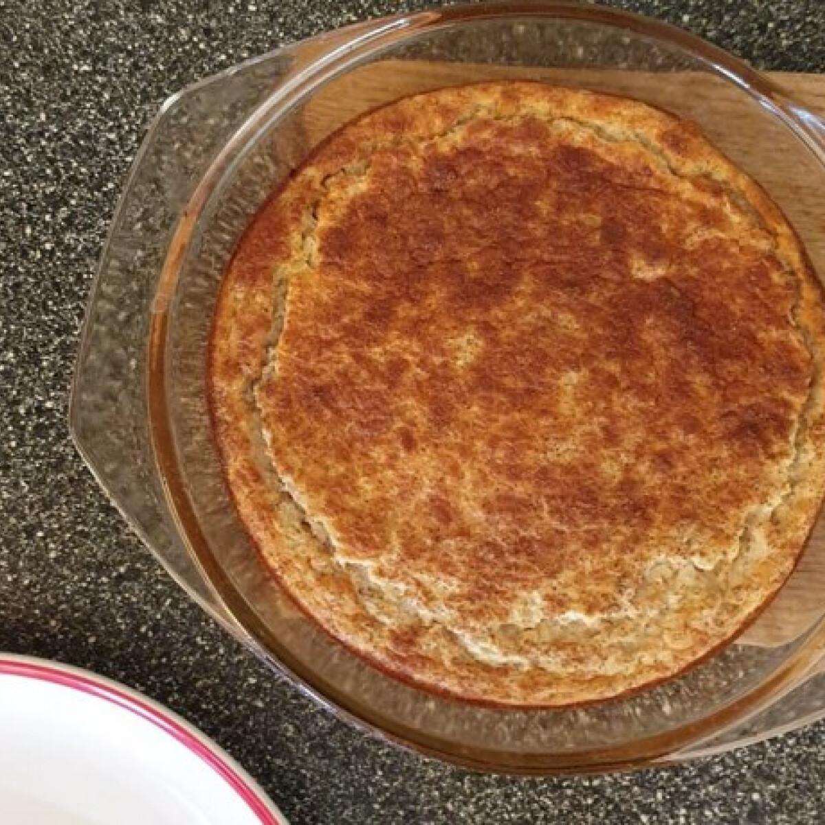 Ezen a képen: Egészséges süti karfiolból