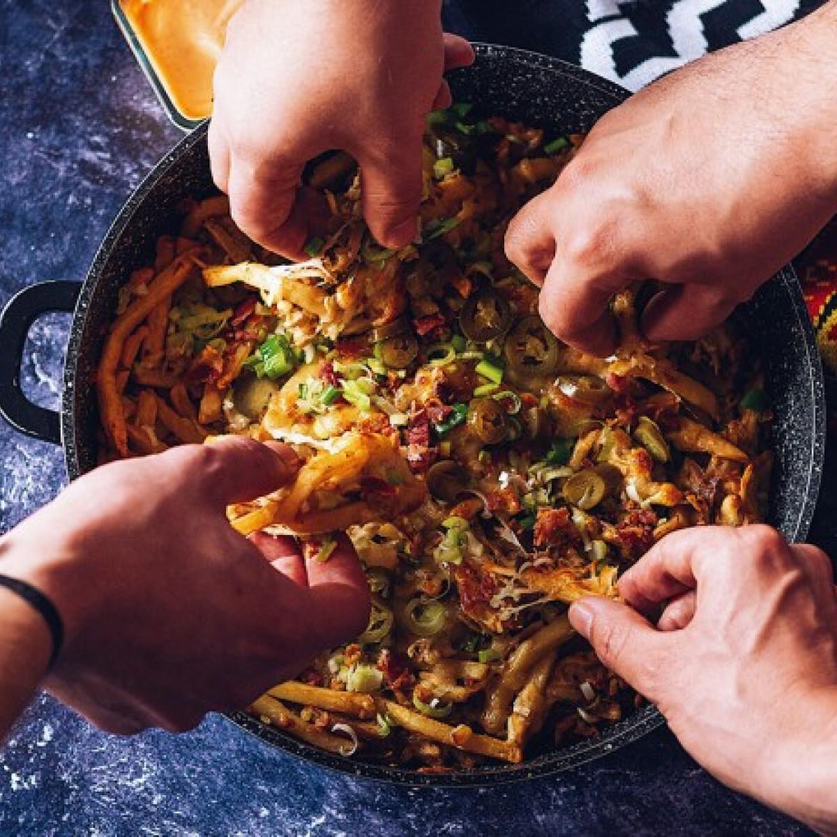 Dirty Fries - A megpakolt sült krumpli