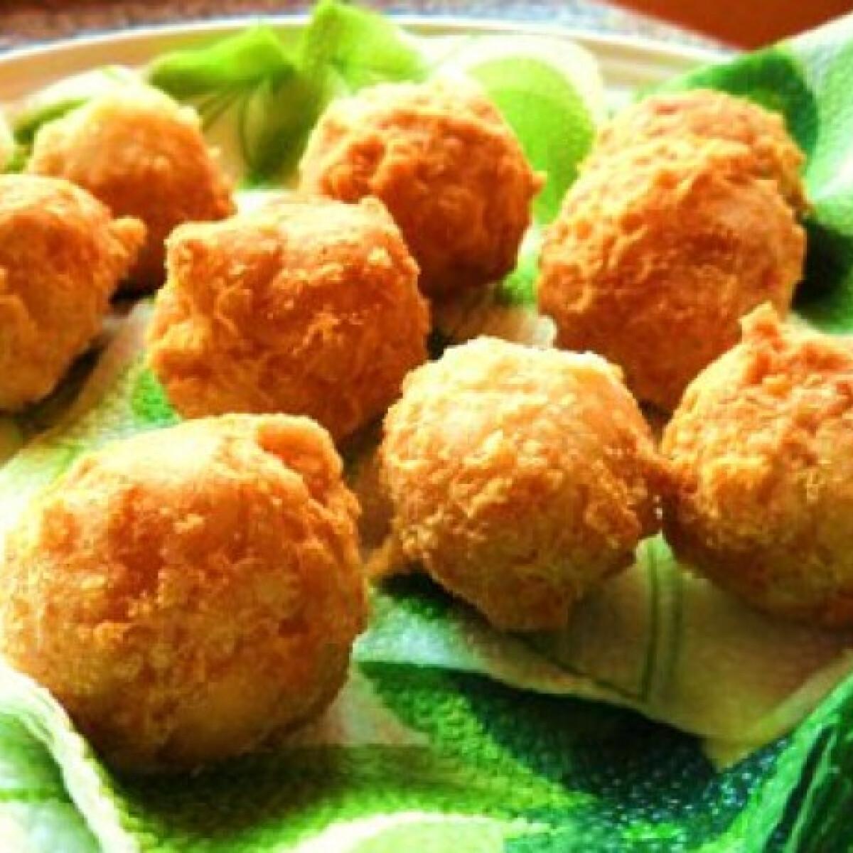 Ezen a képen: Ropogós reszelt sajtgolyók