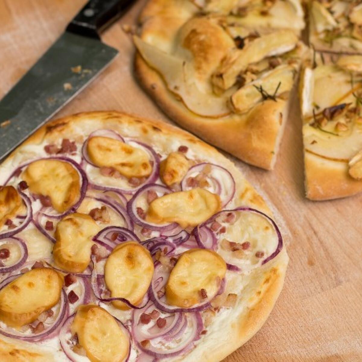 Grillezett kenyérlángos