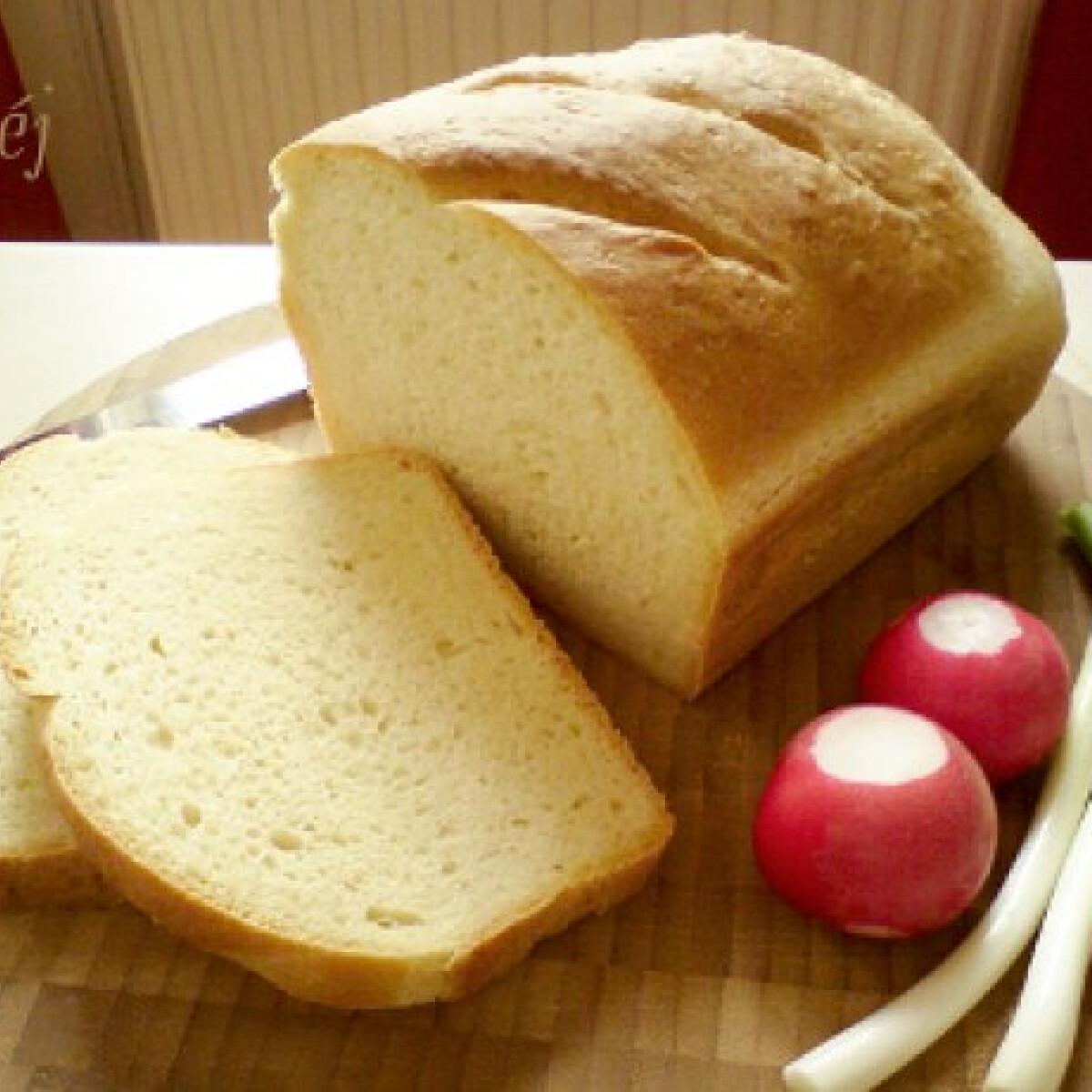 Kukoricás fehér kenyér