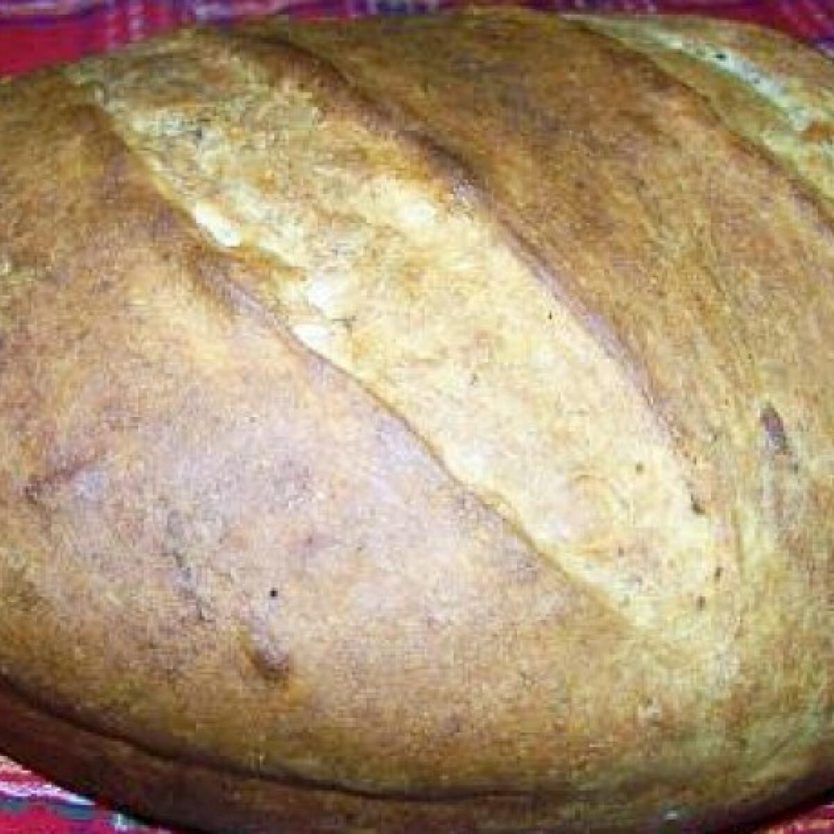 Ezen a képen: Burgonyás-rozsos kenyér