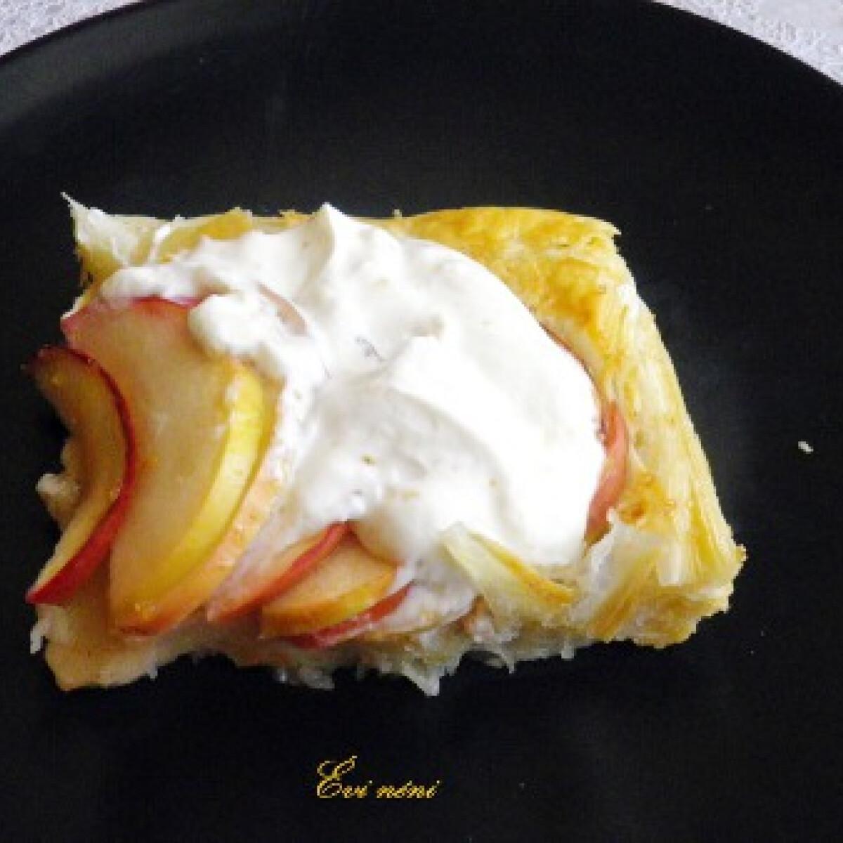 Ezen a képen: Nigella gyors almás lepénye