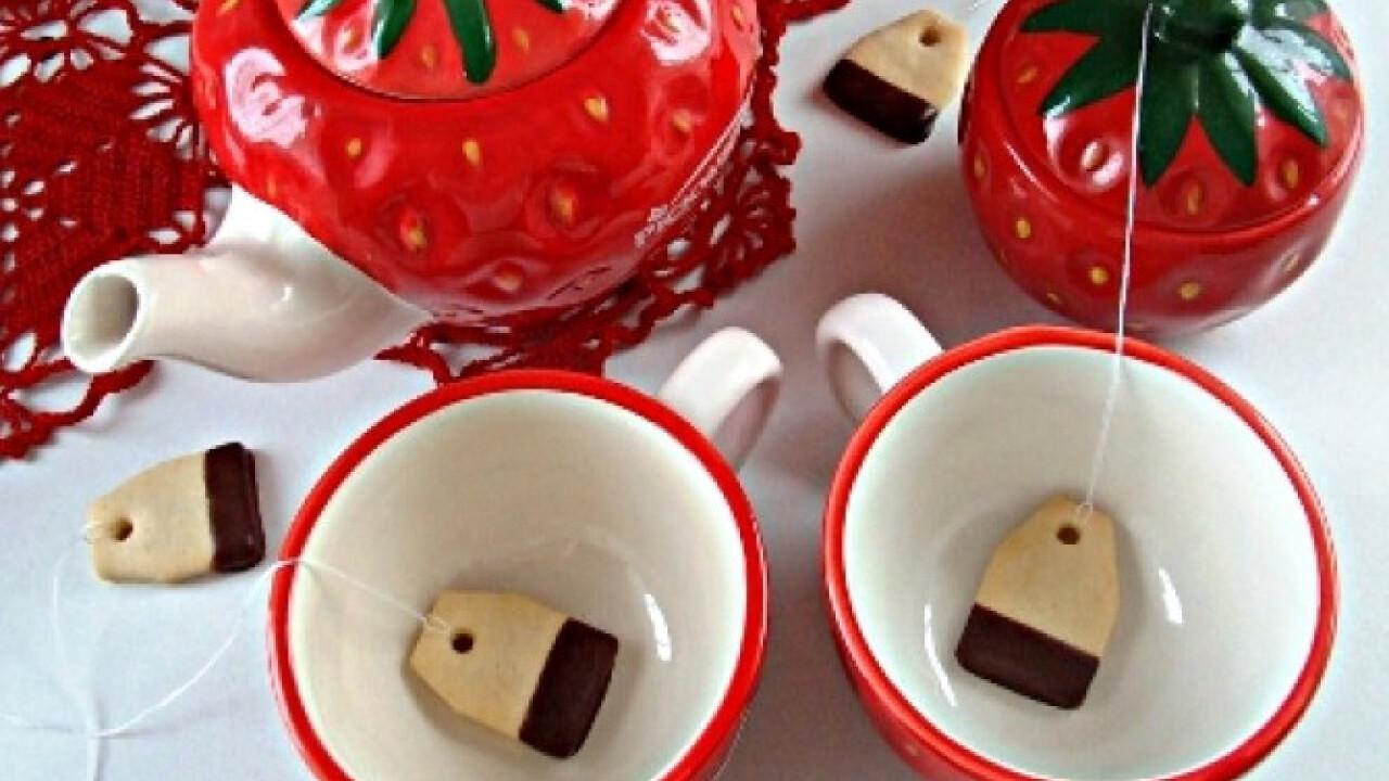 Csokis teafilter keksz