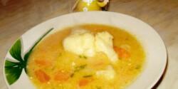 Habart karfiolleves Boszi konyhájából
