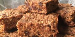 Zabos-túrós-csokis kocka diétásan