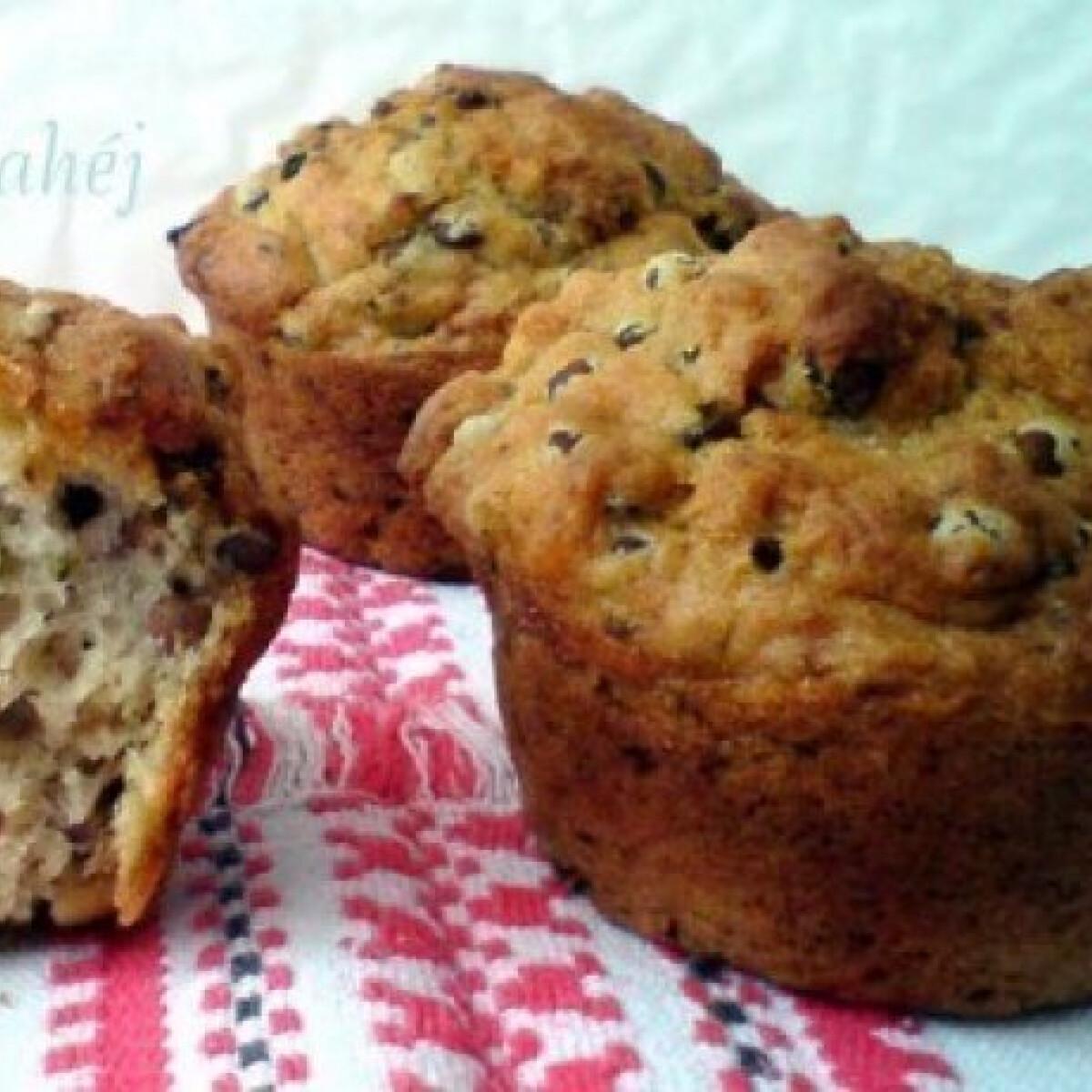 Lencsés-fokhagymás muffin