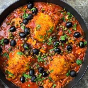 Cacciatore, az olaszok csirkepörköltje
