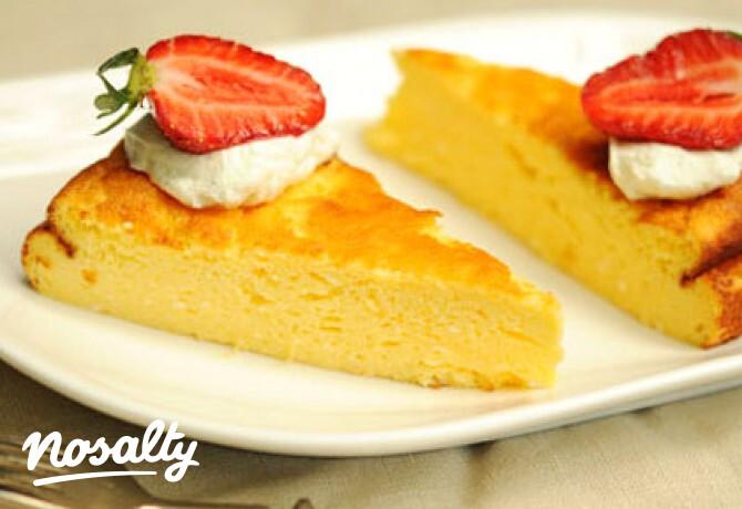 Ezen a képen: Citromos görög joghurt torta