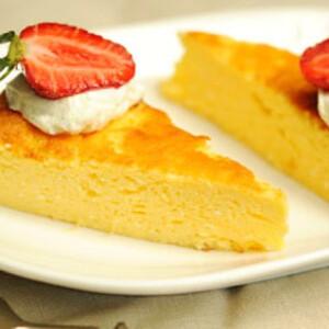 Citromos görög joghurt torta