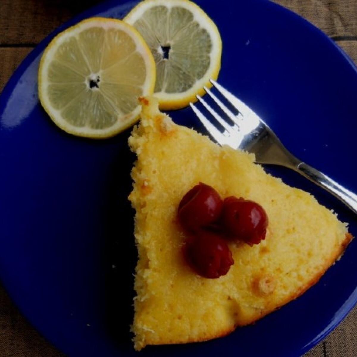 Kókuszos-citromos bögrés pite